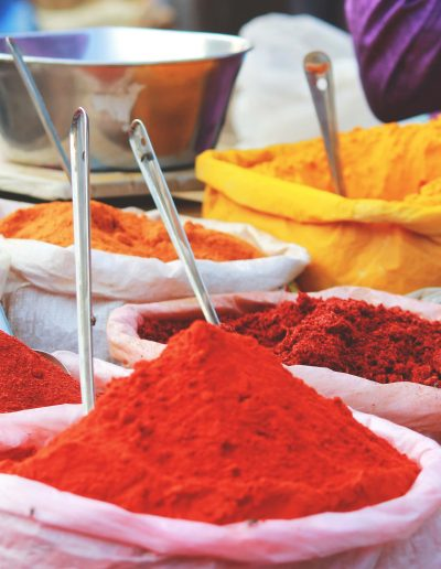 indian spices and powder