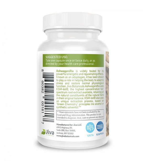 ashwagandha supplement info